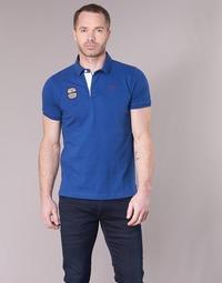 Vêtements Homme Polos manches courtes Serge Blanco DOSSART 15 Bleu