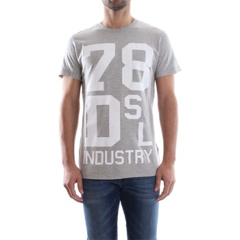 Vêtements Homme T-shirts manches courtes Diesel 00SVR7 0091B T-DIEGO ND T-SHIRT Homme GREY GREY