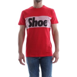 Vêtements Homme T-shirts manches courtes Shoeshine E7TU7047 T-SHIRT Homme RED RED