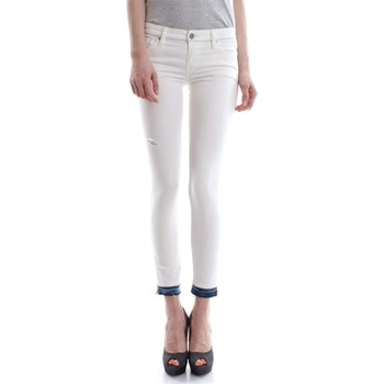 Vêtements Femme Jeans slim Diesel SKINZEELLOW-ZIP L.32 00SGSA JEANS Femme DENIM WHITE DENIM WHITE