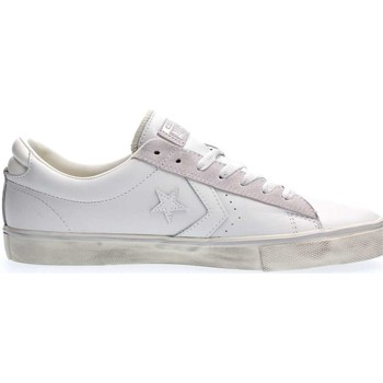 Chaussures Homme Baskets basses Converse 152720C PRO LEATHER OX SNEAKERS Homme WHITE WHITE