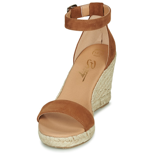 Betty London Femme Et Indali pieds Marron Nu Sandales pUVSqzGM