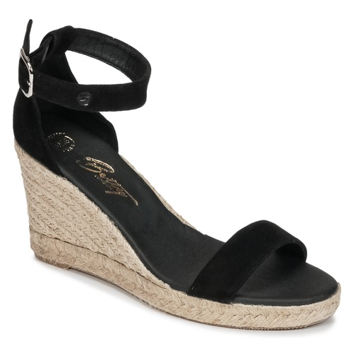 Chaussures Femme Sandales et Nu-pieds Betty London INDALI Noir