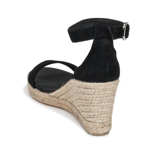 Noir Betty Sandales pieds Femme London Indali Et Nu Yb67gyf