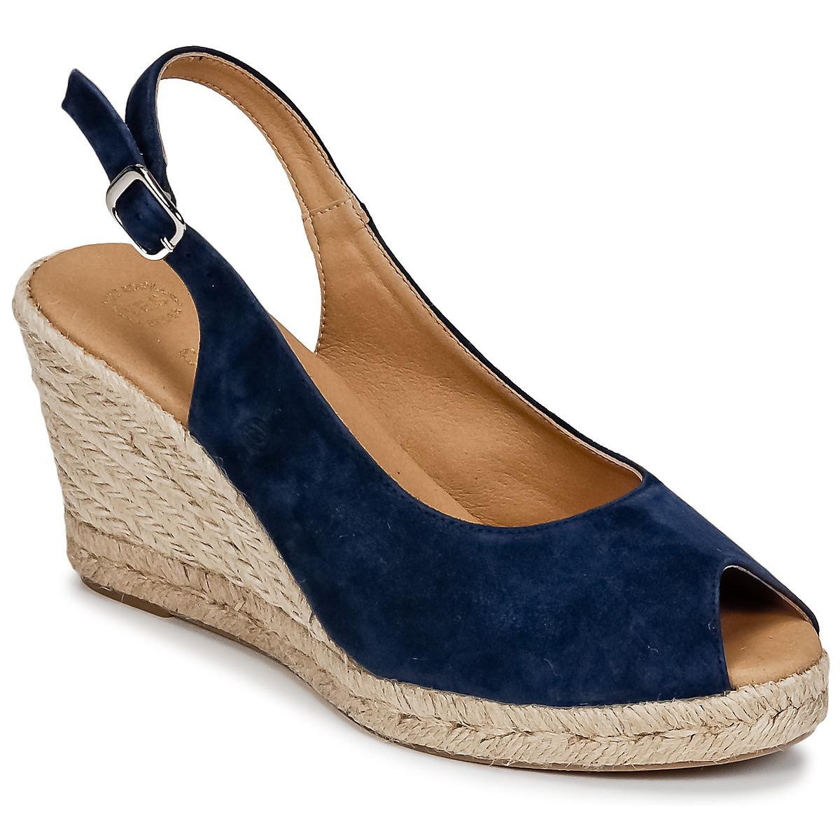 Betty London INANI Marine - Livraison Gratuite avec  - Chaussures Sandale Femme