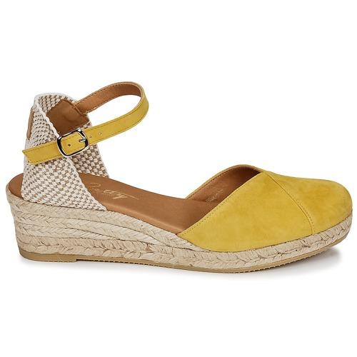 London Nu Et Sandales Jaune pieds Femme Betty Inono 0nOwvmN8