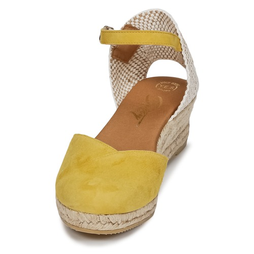 Betty London Et Sandales Nu pieds Inono Femme Jaune dBorCxeW