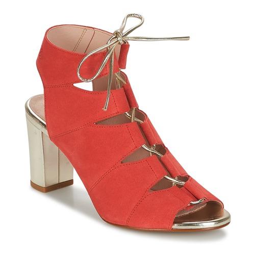 Betty London INALU Rouge - Livraison Gratuite avec  - Chaussures Sandale Femme