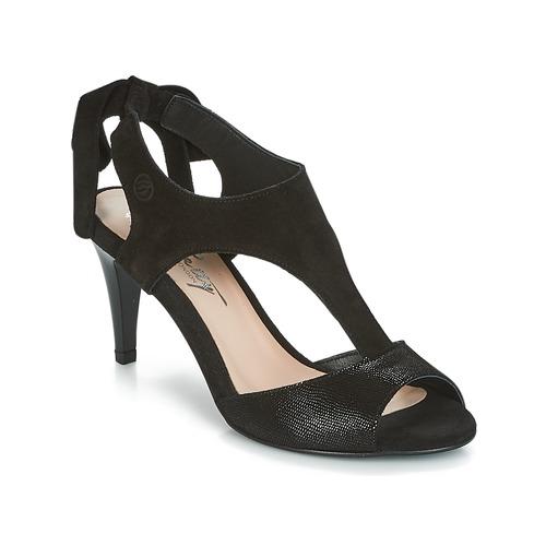 Chaussures Femme Sandales et Nu-pieds Betty London INILAVE Noir
