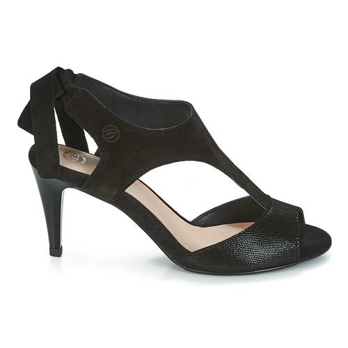Betty Inilave Chaussures London Noir pieds Femme Nu Sandales Et rdeCoxB