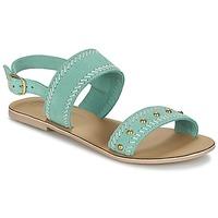 Chaussures Femme Sandales et Nu-pieds Betty London IKARI Bleu