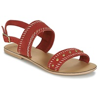Chaussures Femme Sandales et Nu-pieds Betty London IKARI Rouge