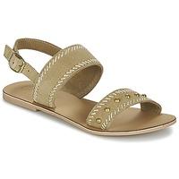 Chaussures Femme Sandales et Nu-pieds Betty London IKARI Beige