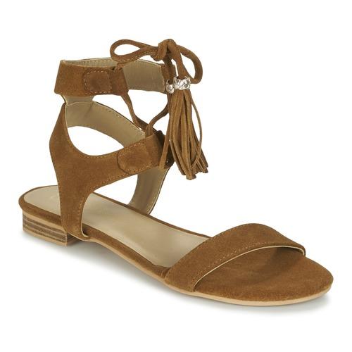 Chaussures Femme Sandales et Nu-pieds Betty London IKARA Marron