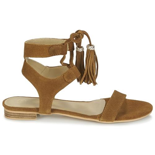 Nu Sandales Et Marron Ikara Betty London Femme pieds dCxBero