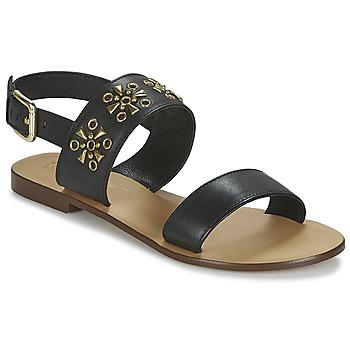 Chaussures Femme Sandales et Nu-pieds Betty London IKIMI Noir