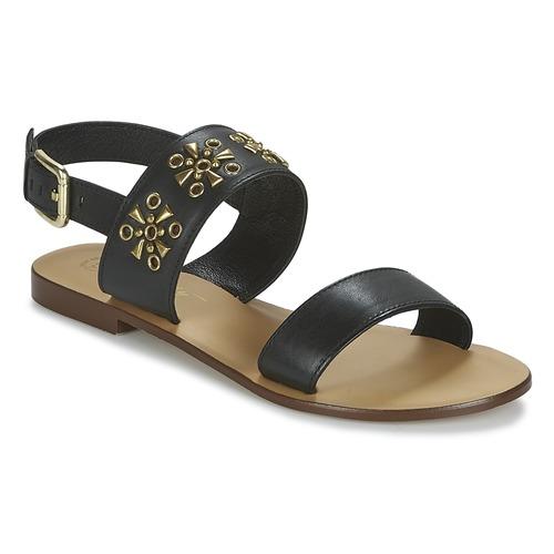 Betty London IKIMI Noir - Livraison Gratuite avec  - Chaussures Sandale Femme