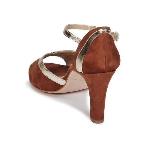 London Marron Nu Et Femme pieds Iflore Sandales Betty 5ulFT1JK3c