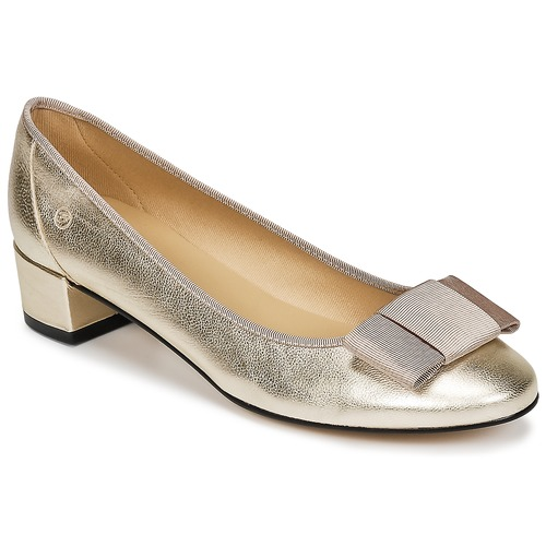 Chaussures Femme Ballerines / babies Betty London HENIA Doré