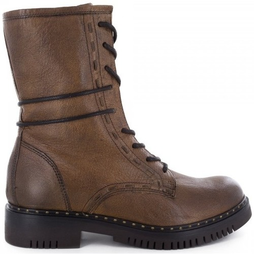 Manas Bottines- Marron