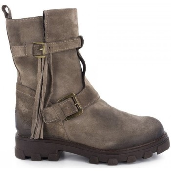 Chaussures Femme Bottines Manas Bottines- Taupe