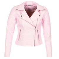 Vêtements Femme Vestes en cuir / synthétiques Noisy May NMREBEL Rose