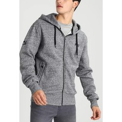 Vêtements Homme Sweats Superdry SWEAT CAPUCHE ORANGE LABEL GRIS CHINE