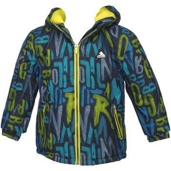 Vêtements Garçon Blousons Longboard Lup jne fluo jacket cadet Jaune fluorescent