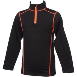 Vêtements Garçon T-shirts manches longues Longboard Hop noir 1/2z ml tee jr Noir