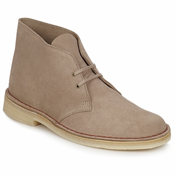 Bottines / Boots Clarks DESERT BOOT Sable 350x350