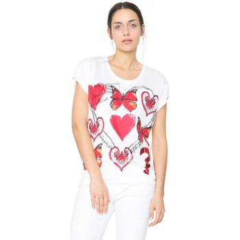 Vêtements Femme T-shirts manches courtes Desigual Tee-shirt DESIGUA Arion Tiza 61T25K2 (sp) 1