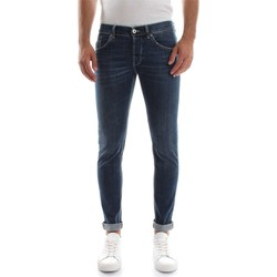 Vêtements Homme Jeans droit Dondup RITCHIE UP424 JEANS Homme DENIM DARK BLUE DENIM DARK BLUE