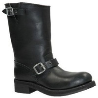 Chaussures Homme Bottes ville Sendra boots Bottes Western  ref_sen02802-noir Black