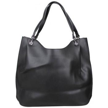 Sacs Femme Sacs porté épaule A Découvrir ! Sac épaule + sac bandoulière souple effet lisse Noir