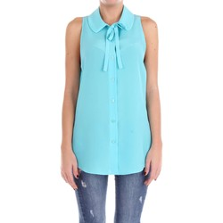 Vêtements Femme Tops / Blouses Moschino Couture 02100437 Chemise Femme Tourquoise Tourquoise