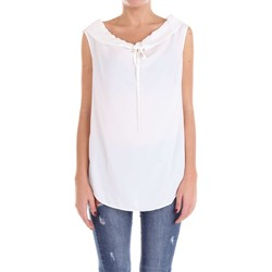 Vêtements Femme Tops / Blouses Moschino Boutique 02161137 pull-over Femme Blanc Blanc