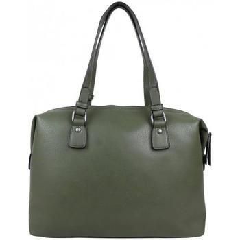 Sacs Femme Sacs porté main Fuchsia Sac à main + sac bowling déco rivets  Demars Vert kaki