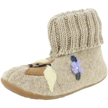 Chaussures Fille Chaussons Haflinger 483116 beige
