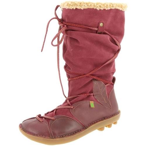 Chaussures Femme Bottines El Naturalista n051 rouge