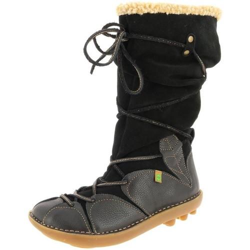 Chaussures Femme Bottines El Naturalista n051 noir