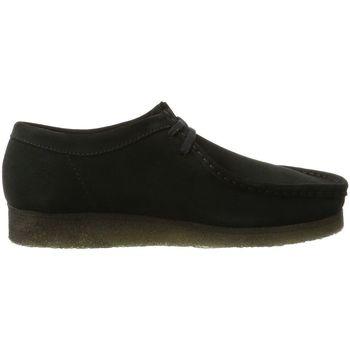 Chaussures Homme Derbies Clarks wallabee noir