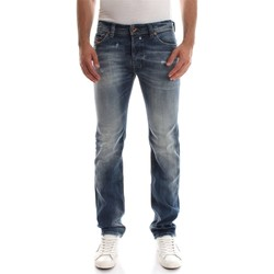 Vêtements Homme Jeans droit Diesel SAFADO L.32 JEANS Homme DENIM MEDIUM BLUE DENIM MEDIUM BLUE
