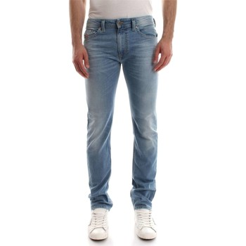 Vêtements Homme Jeans droit Diesel THAVAR L.32 JEANS Homme DENIM LIGHT BLUE DENIM LIGHT BLUE