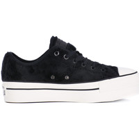 Chaussures Femme Baskets basses Converse ALL STAR PLATFORM OX Nero
