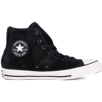 Chaussures Femme Baskets montantes Converse ALL STAR HI BALCK Nero
