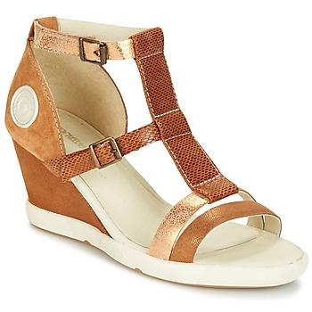 Chaussures Femme Sandales et Nu-pieds Pataugas WAMI-F2B Camel