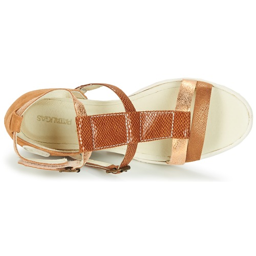 Nu Wami pieds Sandales Chaussures f2b Camel Et Femme Pataugas W2YDI9EHeb