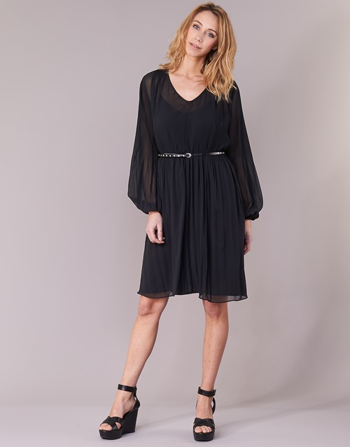 Winona Femme Jeans Robes Courtes Noir Pepe TlF1KJc