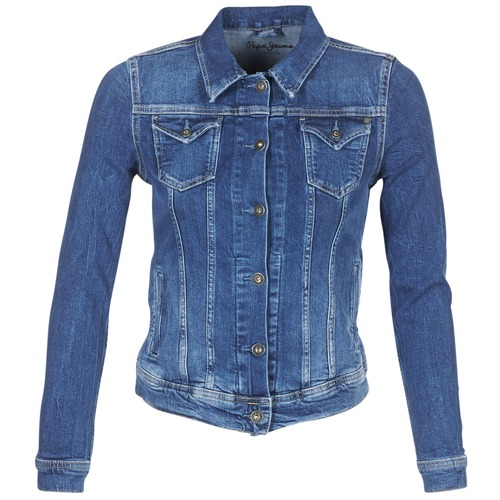 Vêtements Femme Vestes en jean Pepe jeans THRIFT Bleu Medium