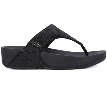 Chaussures Femme Tongs FitFlop FIT FLOP  LULU SUPERGLITZ Nero